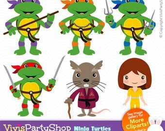 Clip Art Ninja Turtles Clip Art turtle clipart etsy ninja turtles printable instant download png files superhero tmnt c017