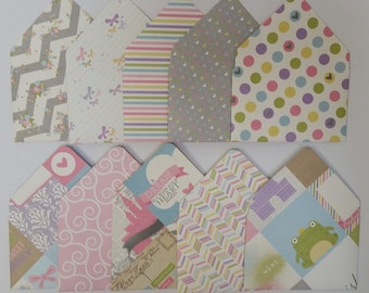 Girl Birthday // Princess Birthday // Friend Birthday Gift card holder // Gift Card Envelopes