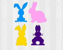 SALE 67% OFF Easter bunny SVG, Easter svg, Easter bunny silhouette svg, svg files for silhouette cameo, cricut explore, easter basket svg,