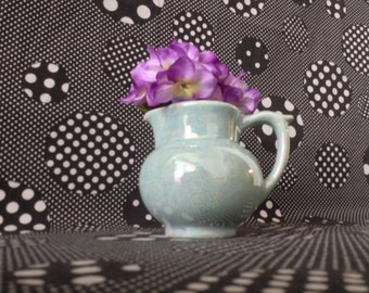 Sweet Swirls~The Kitchen Pantry~Pitcher~Vase~Sky Blue