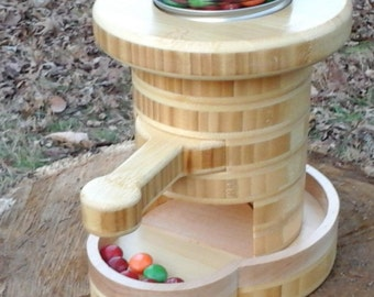Wooden Candy Dispenser