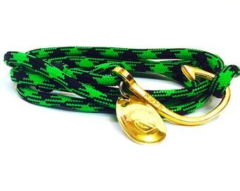 Winnecunnet nautical fishing lure bracelet