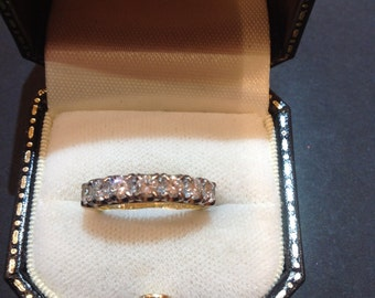 Pre owned 7 stone diamond ring