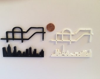 1/12 scale city coat rack