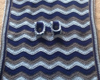 Crocheted Car Seat Cover - Perfect for New Mommies & Babies!