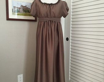 Jane Austen Regency Gown by Iblamejanetoo - U.S. size 10-12