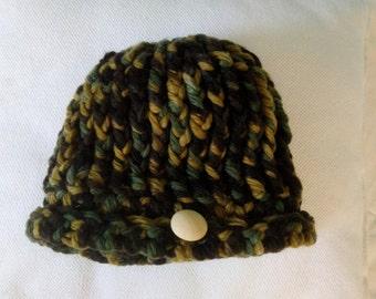 Native wool hat
