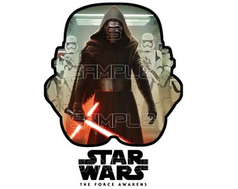 Star Wars Printable Iron On Transfer Instant Digital Download