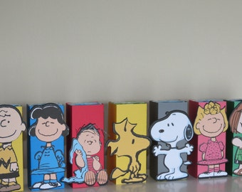 Peanuts Inspired Juice Wrappers