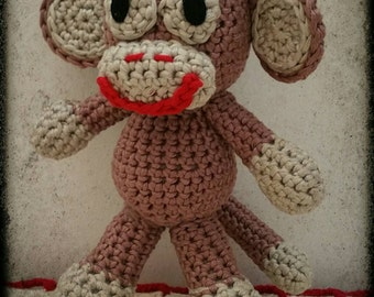 Crochet Cheeky Monkey