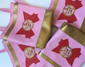 Sailor Moon vinyl totebag
