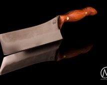 Custom hand made Nakiri Japanes kitchen knife, chef knife from M knives Keuken mes, geschenk