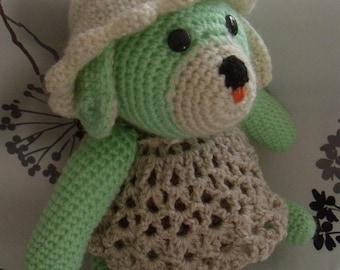 Gardener dog crochet