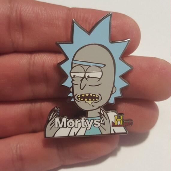 "Rick and Morty ""Ancient Mortys"" Pin V1"