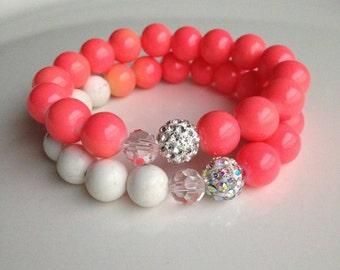 Orange Sherbert Bracelet Set