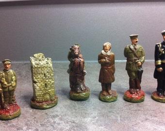 Unique WW1 Theme chess set