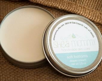 Soft Bottoms natural diaper cream, 1.5 oz.