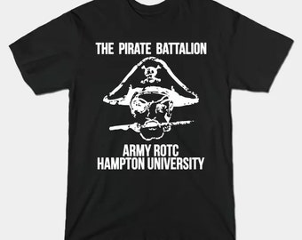 Pirate Battalion Elliott Smith T-Shirt | Unisex Army ROTC Hampton Elliot Smith Shirt - XS S M L XL 2XL 3XL