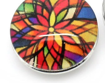 Color Burst Snap Button