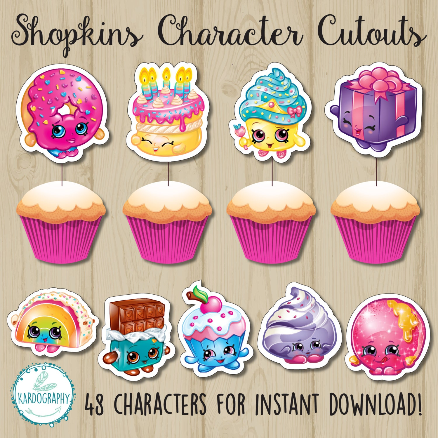 This is a photo of Critical Shopkins Printable List