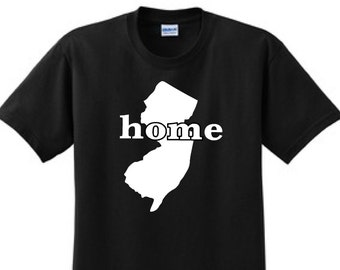 "NEW JERSEY ""HOME""  T-Shirt"