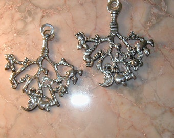 Italian Cimaruta Authentic Small Double Sided Sterling