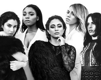 Fifth Harmony Glossy Poster - Choose Your Size - Includes a Free Surprise A3 Poster