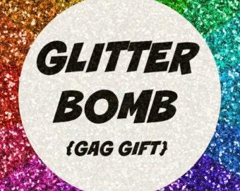 Glitter Bomb , prank mail, glitter mail, gag gift
