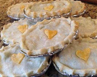 Organic GLUTEN FREE pot pies... oh my!  Organic Gluten Free Pot pies Chicken pot pie Beef potpie Vegan Pot pie Veggie pot pie