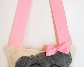Kawaii cloud tooth pillow