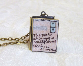Perks of Being a Wallflower Story Locket
