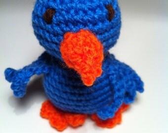 Twitter the crochet bird