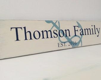 Established Sign, Established Signs for Home, Established Signs Family Name, Established Signage, Family Established, Family Name Sign
