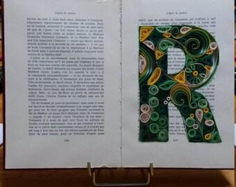 Quilling Art Project - Monogram