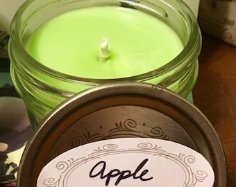 Apple Scented Soy Candle