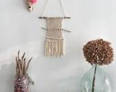 Macrame modern/weaving macrame/hanging wall/wall hanging/modern macrame...