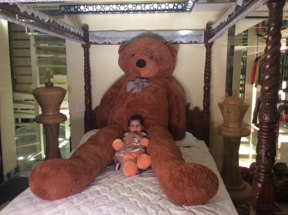 empty huge giant big 300 cm 120 inch super size teddy bear. Black Bedroom Furniture Sets. Home Design Ideas