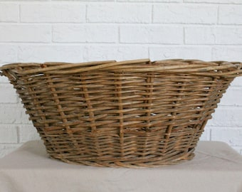 Vinage Wicker Laundry Basket