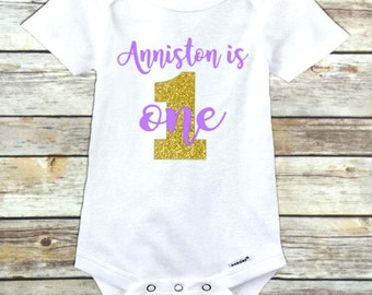 First birthday onesie outfit girl shirt top birthday girl personalized birthday