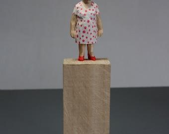 Wood sculpture, sculpture, carving, figure, art
