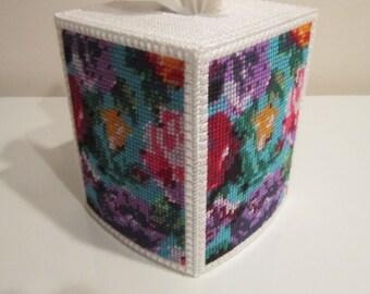 Pretty Floral Tissue Box
