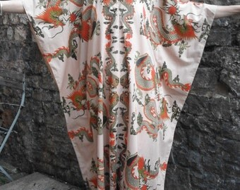 70's Vintage, Batik, Kaftan