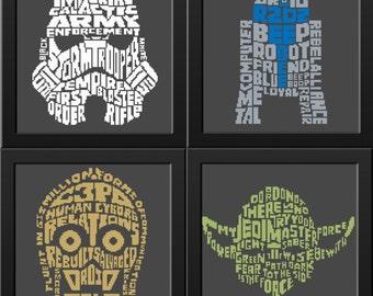 Star Wars Cross Stitch pattern Pdf, Yoda cross stitch, Stormtrooper R2D2 C3PO Funny Modern Cross Stitch Cool Cross Stitch Geeky Cross Stitch