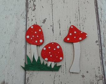 Fairy Door Toadstool Accessories