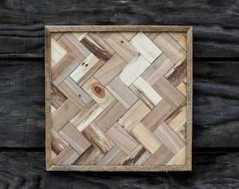 Reclaimed Wood Wall Piece