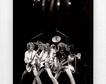 Status Quo Live in Glasgow 1981 Poster