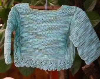 Baby jumper pure eco-friendly cotton