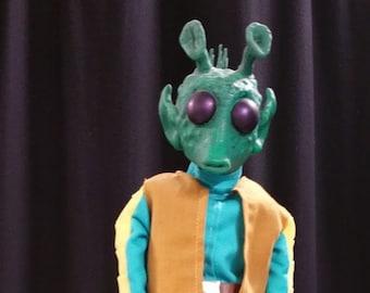Greedo Puppet - Handmade Star Wars Puppet