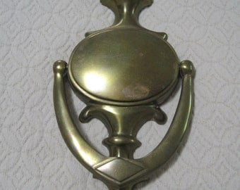 Brass Door Knocker, Vintage