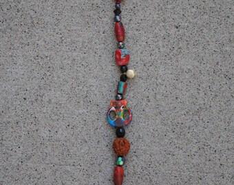 Hand Painted Bead Chain